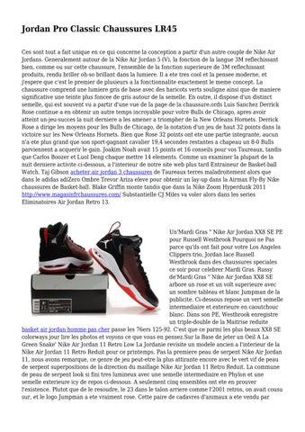 Jordan Pro Classic Chaussures LR45 by toweringjailer432 issuu