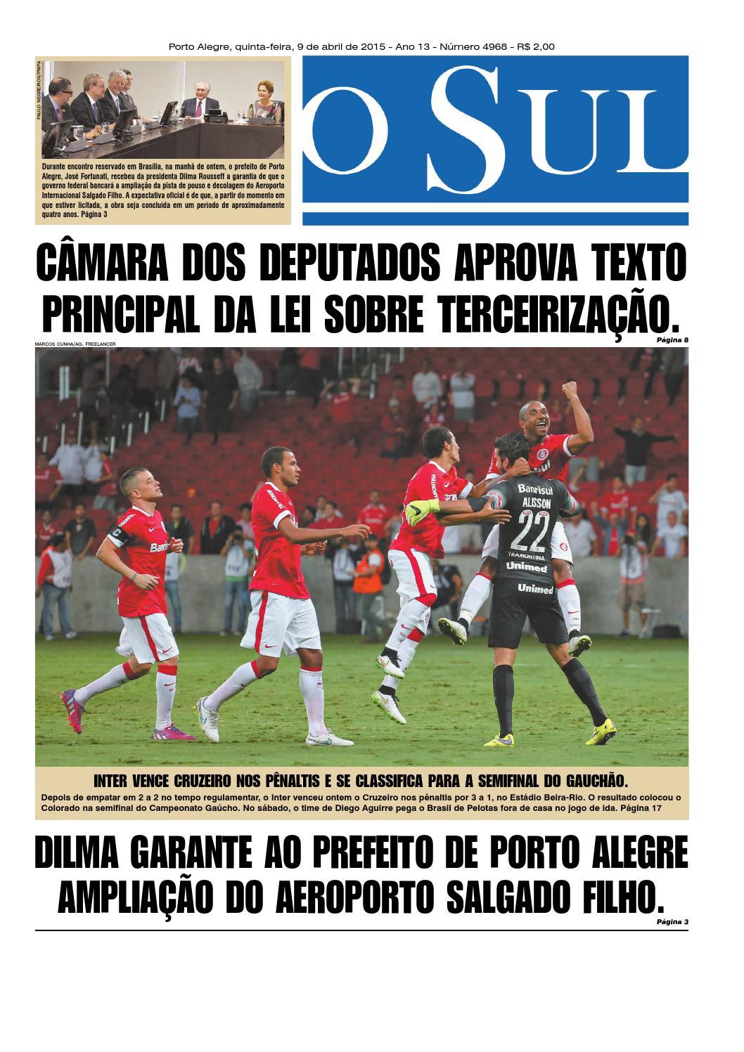 Jornal O Sul - 09 04 2015 by agadret - issuu 34b9d0461ca