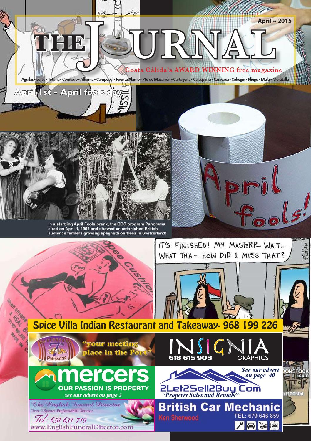 April Magazine 2015 by The Camposol District Journal - issuu