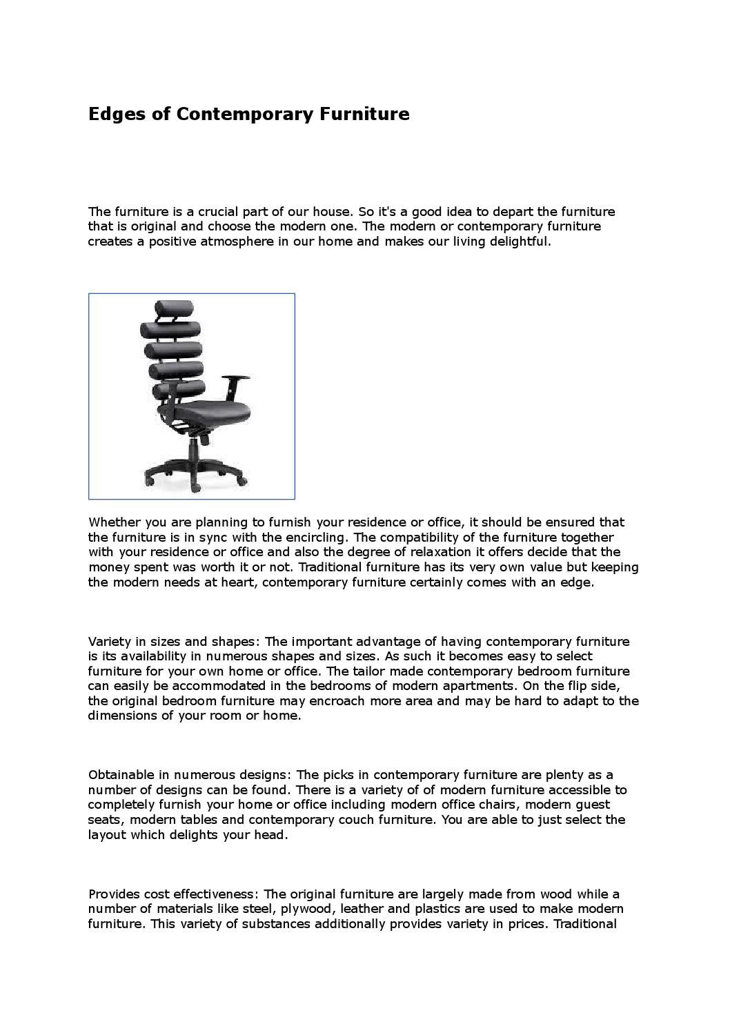 Modern furniture by robert swearingen issuu