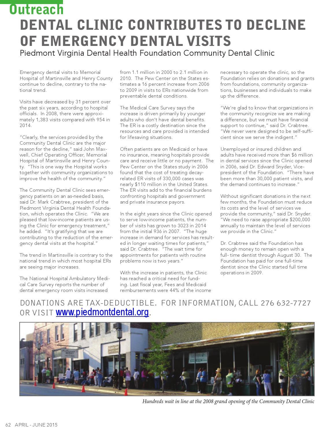 Virginia Dental Journal Vol 92 #2 April-June 2015 by