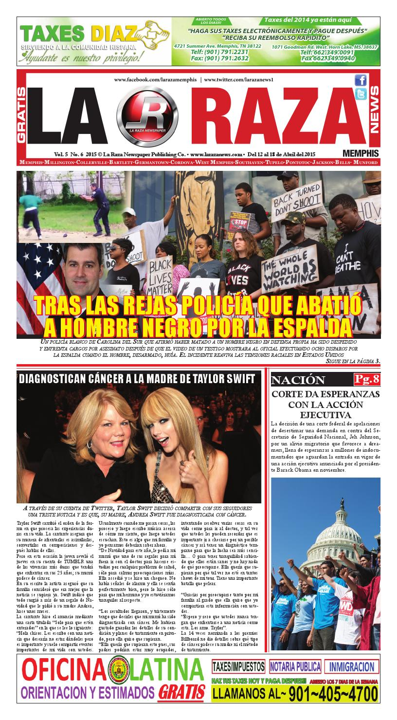 La Raza Newspaper, Memphis, TN. by Nancy Águila - issuu