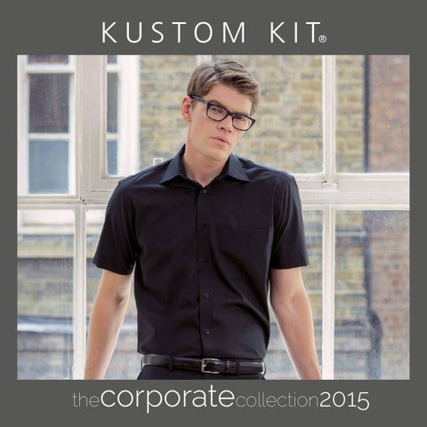 KUSTOM KIT LADIES SHIRT BLOUSE STAND UP COLLAR CUFFS SMART 100/% COTTON TOP 8-20