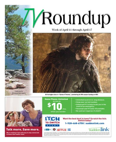 Tv Guide April 11 17 2015 By Payson Roundup Issuu