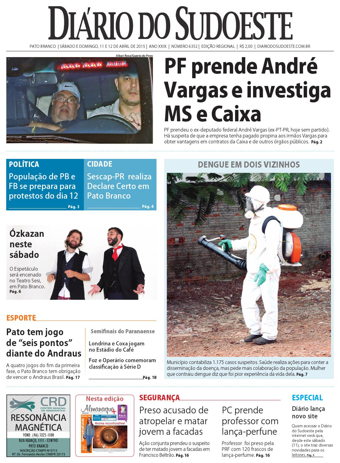 523ae9f557dc3 Diário do Sudoeste 11 e 12 de abril de 2015 - Edição 6352 by Diário do  Sudoeste - issuu