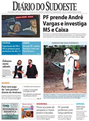 af427536c1fb3 Diário do Sudoeste 11 e 12 de abril de 2015 - Edição 6352 by Diário ...