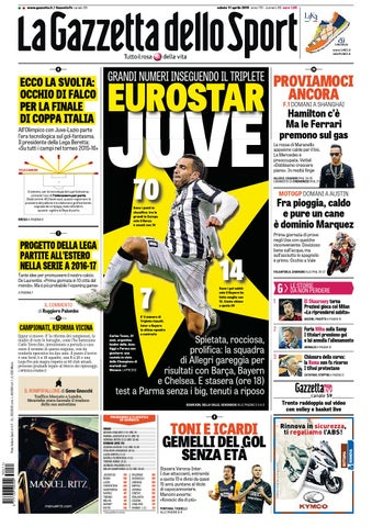 La Gazzetta dello Sport (04-11-2015) by Nguyen Duc Thinh - issuu 01aec46172a