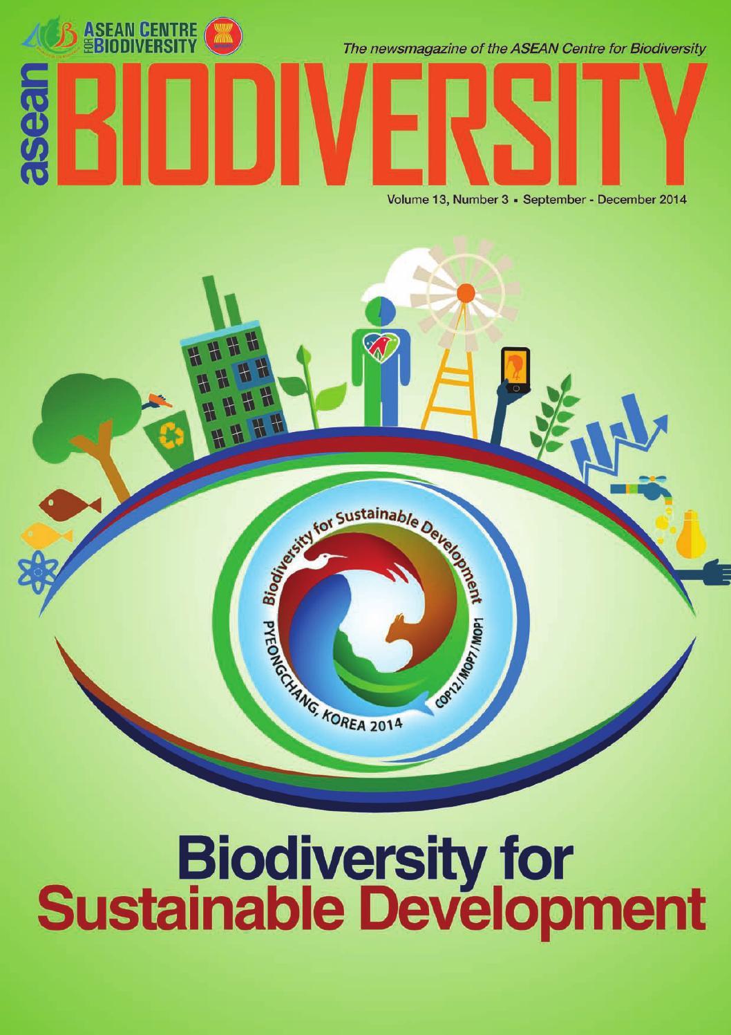 ASEAN Biodiversity Sep-Dec 2014 by Nanie Gonzales - issuu