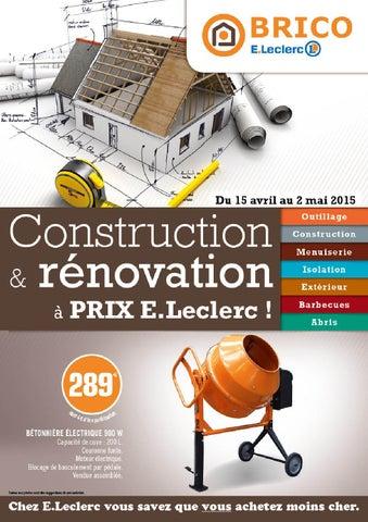 Guide Construction Brico Jardi E.Leclerc Ambarès By Paul Hauchon   Issuu