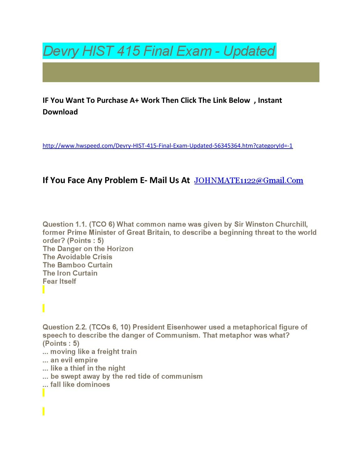 fin 415 exam Econ 415 labor economics final exam 7/11/01 parti:do6outof7questions(90points) 1) a firm's production function is q = f (l+k) where l is the amount of labor hired.