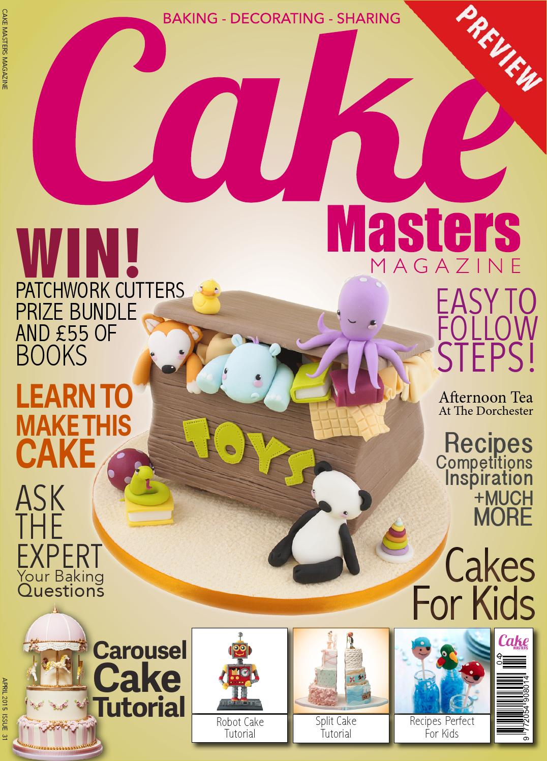 April 2015 Cake Masters Magazine By