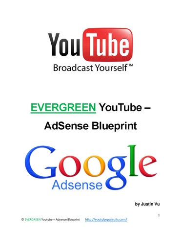 Top tips to get more youtube views and subscribers by carlybarboz 1 evergreen youtube adsense blueprint malvernweather Gallery