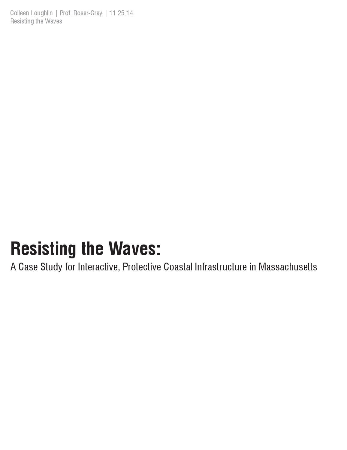 Architectural Thesis Research | Interactive, Protective Coastal ...