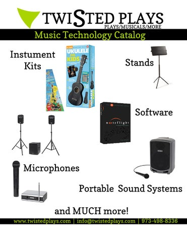 Music Technology Catalog By Twisted Plays Issuu
