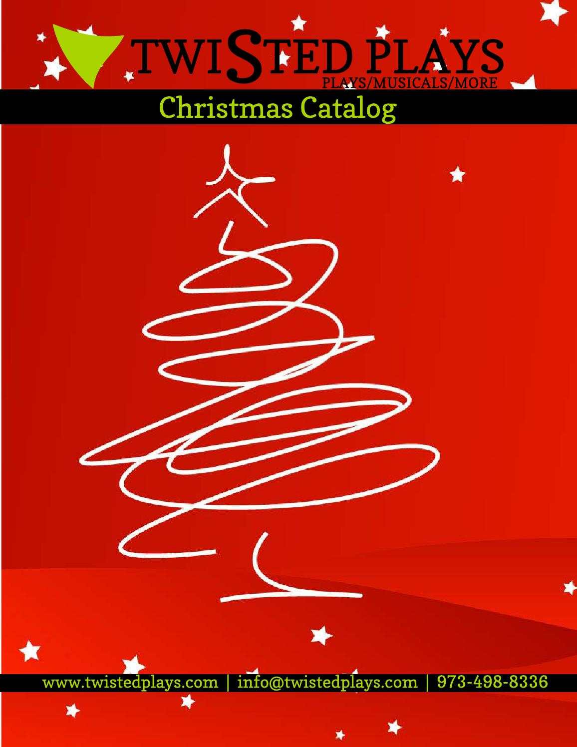 Christmas catalog by Twisted Plays - issuu