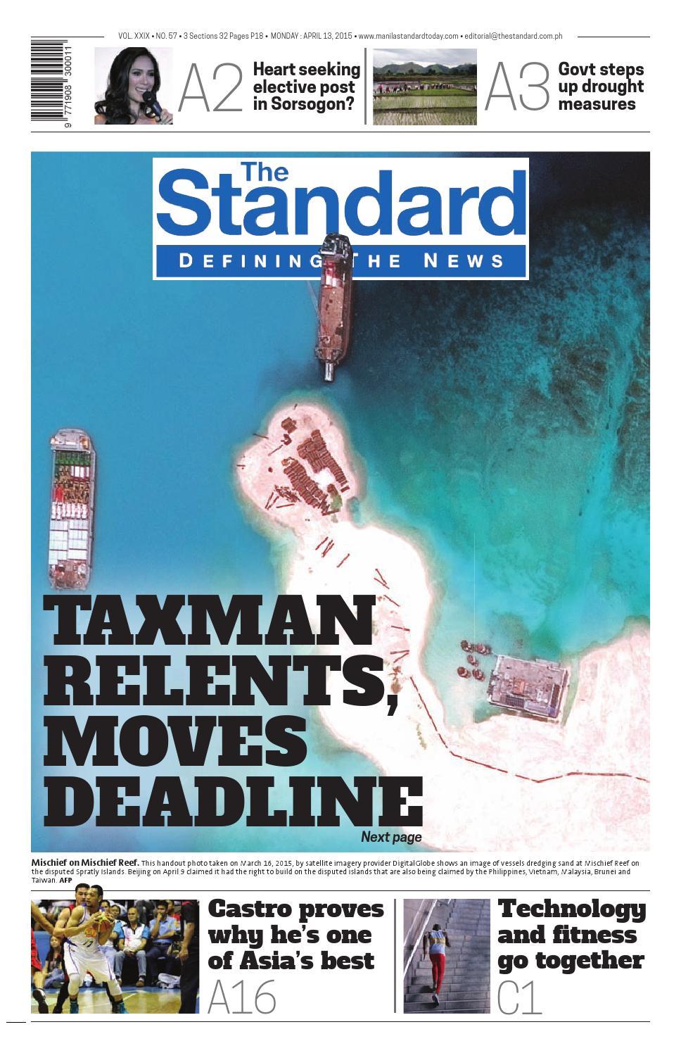 The Standard - 2015 April 13 - Monday by Manila Standard - issuu