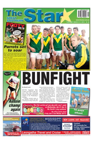 The Great Southern Star March 31 2015 By The Great Southern Star Issuu
