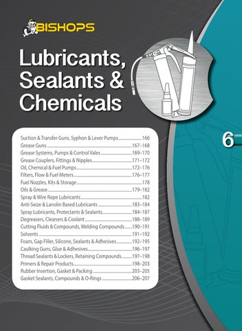 Bishops Lubricants, Sealants & Chemicals by ATOM - issuu
