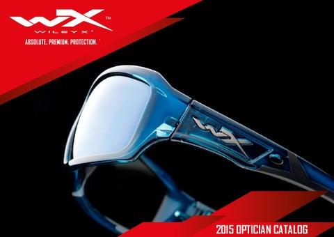 51c5bdf83f Wiley X Optician Catalog 2015 English by Wiley X EMEA LLC - issuu