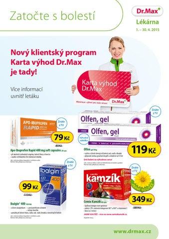 Dr Max Lekarna 0104 3004 By Lekarny Letaky Issuu