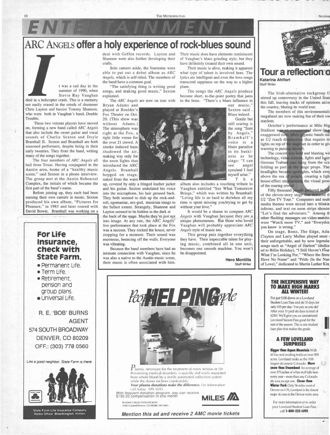 Volume 15, Issue 14 - Nov  13, 1992 by Met Media - issuu