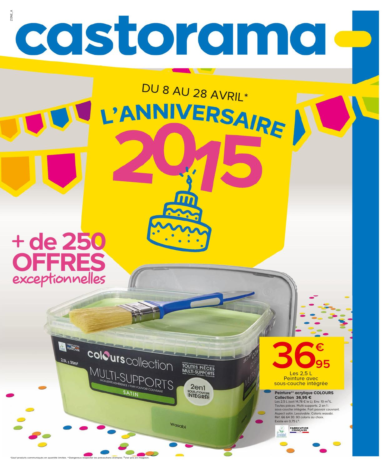 Castorama catalogue 8 28avril2015 by for Castorama vitrolles catalogue