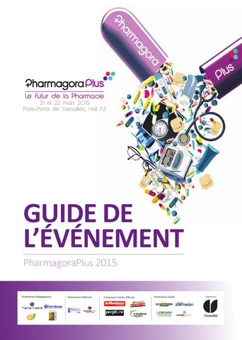 PharmagoraPlus 2015 - Guide De L Evenement by CloserStill Media - issuu c3558efa7bf