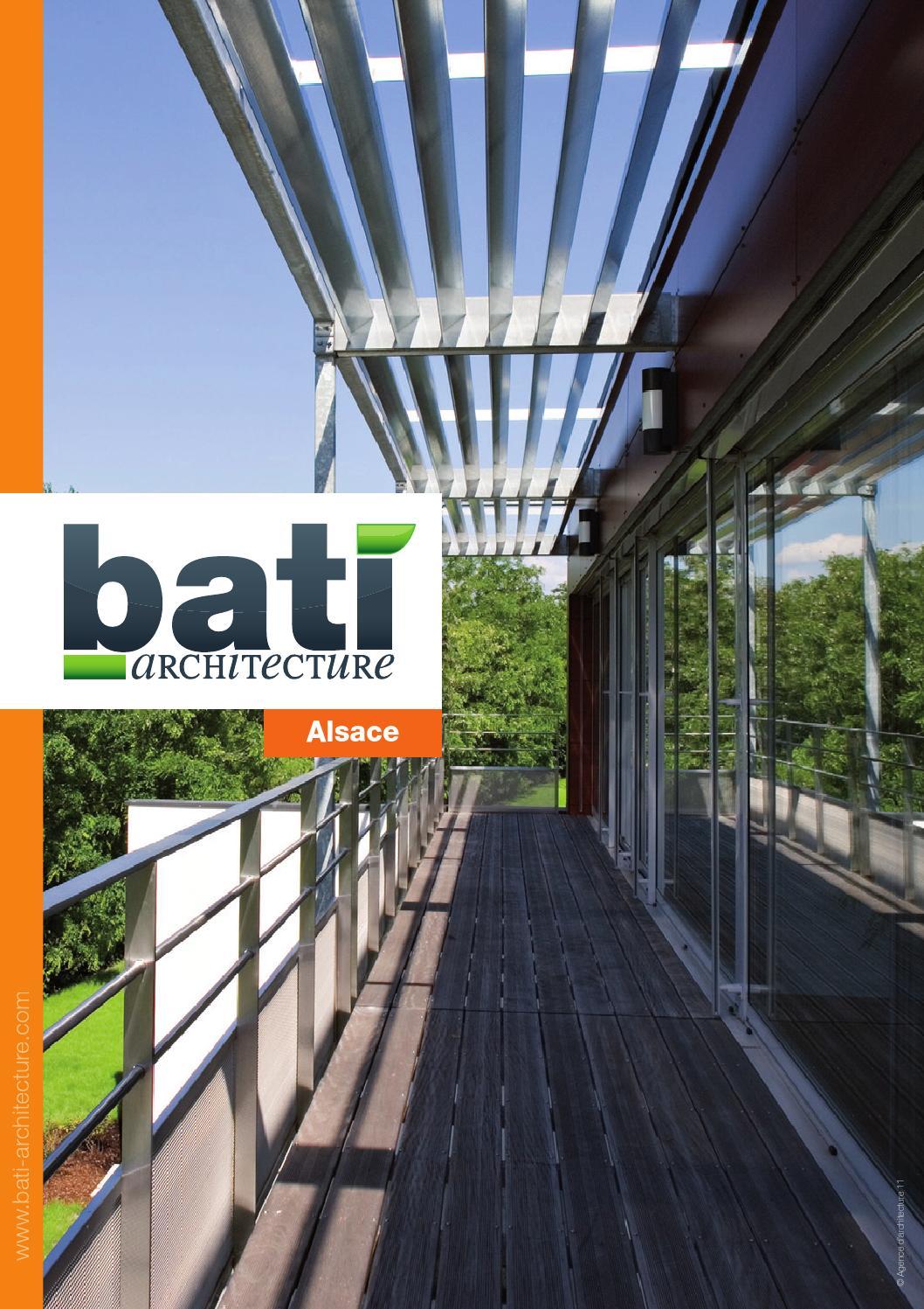 Alsace 2012 By Bati Architecture Issuu