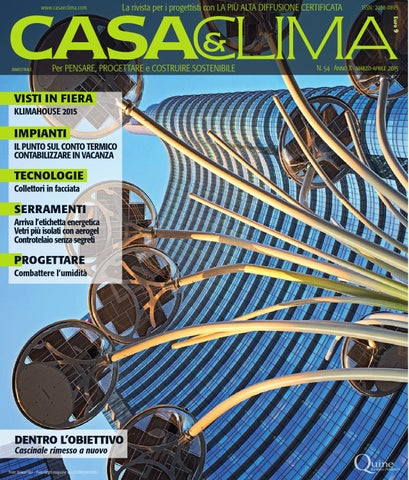 Casa clima 54 by quine business publisher issuu - Costruire controtelaio finestra ...