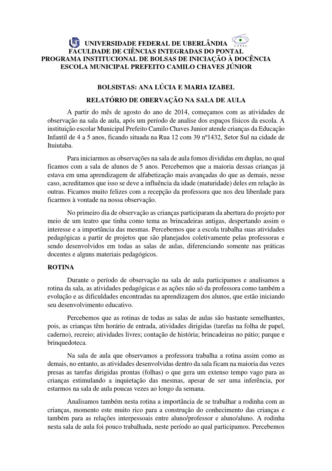 Famosos Pedagogiaponta walériafurtado anexo 7 by Estagiário PIBID - issuu YB34