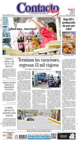9c1075e7 Contacto hoy del 12 de abril del 2015 by Contacto hoy - issuu