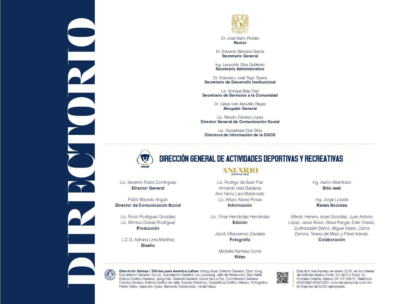 Anuario Deporte 2014 by Adriana Lima - issuu