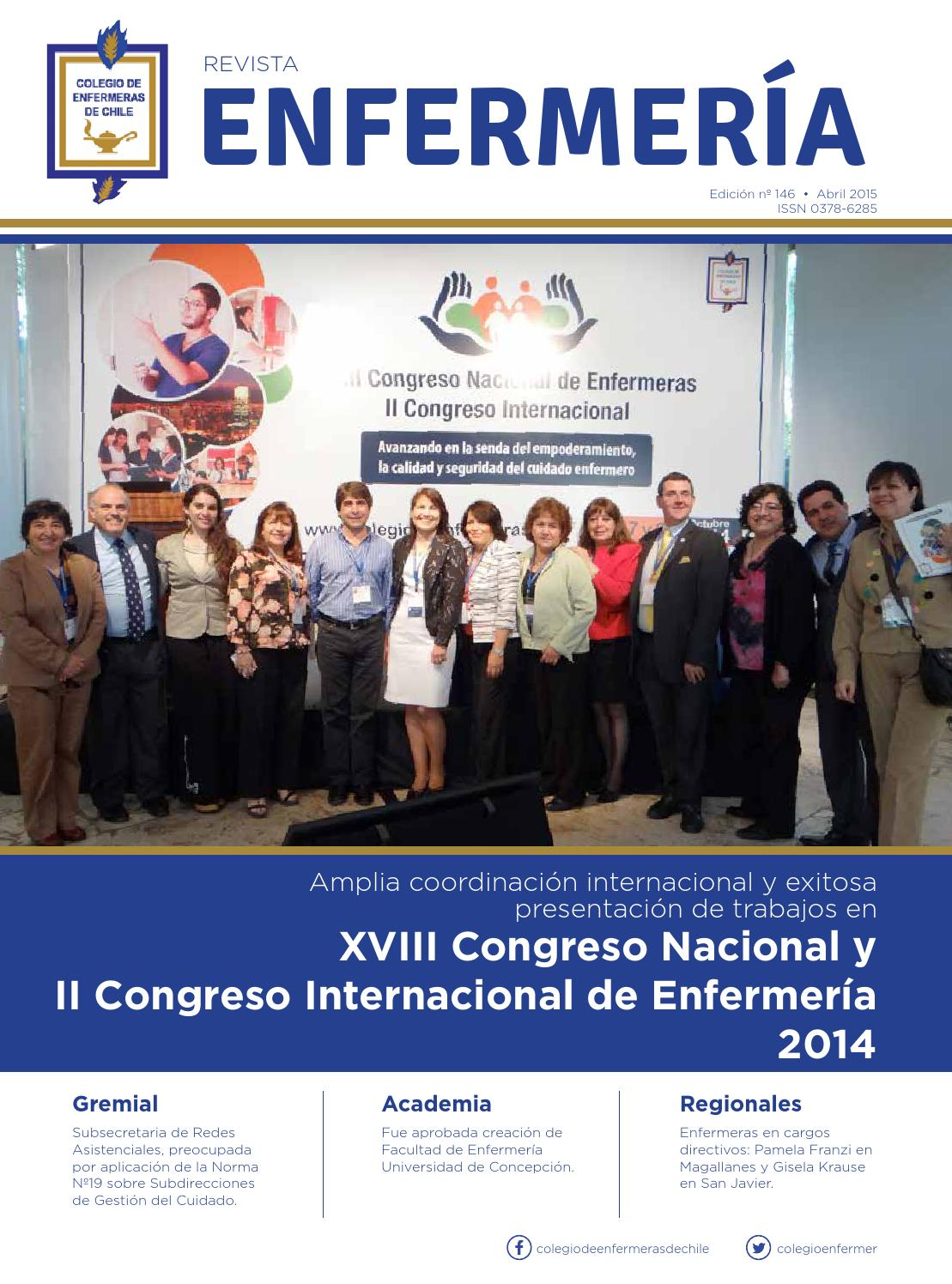 Revista Enfermería 146, abril 2015 by Edirekta Marketing Integral ...