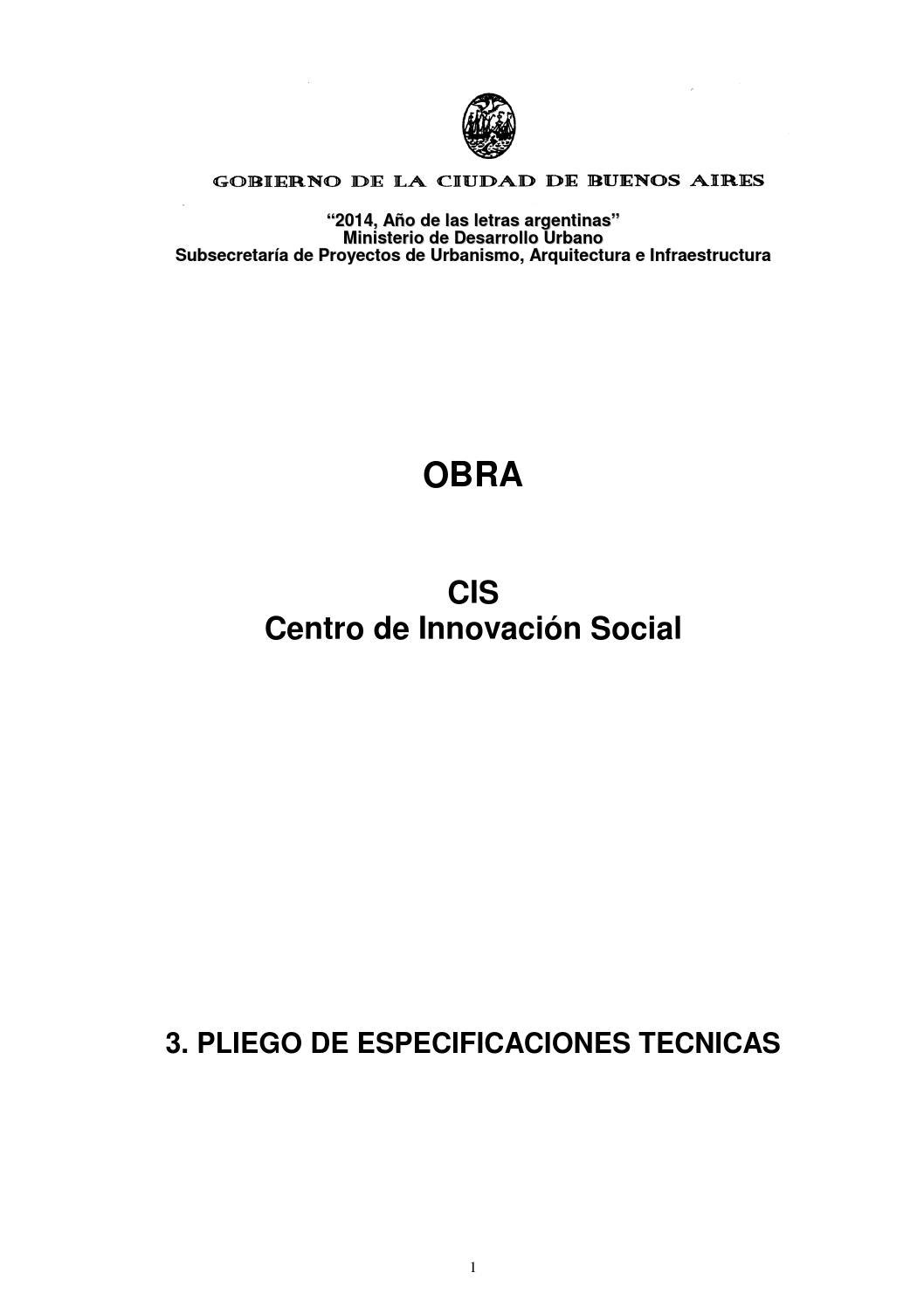 Licitación Núcleo de Inclusión y Desarrollo de Oportunidades by ...