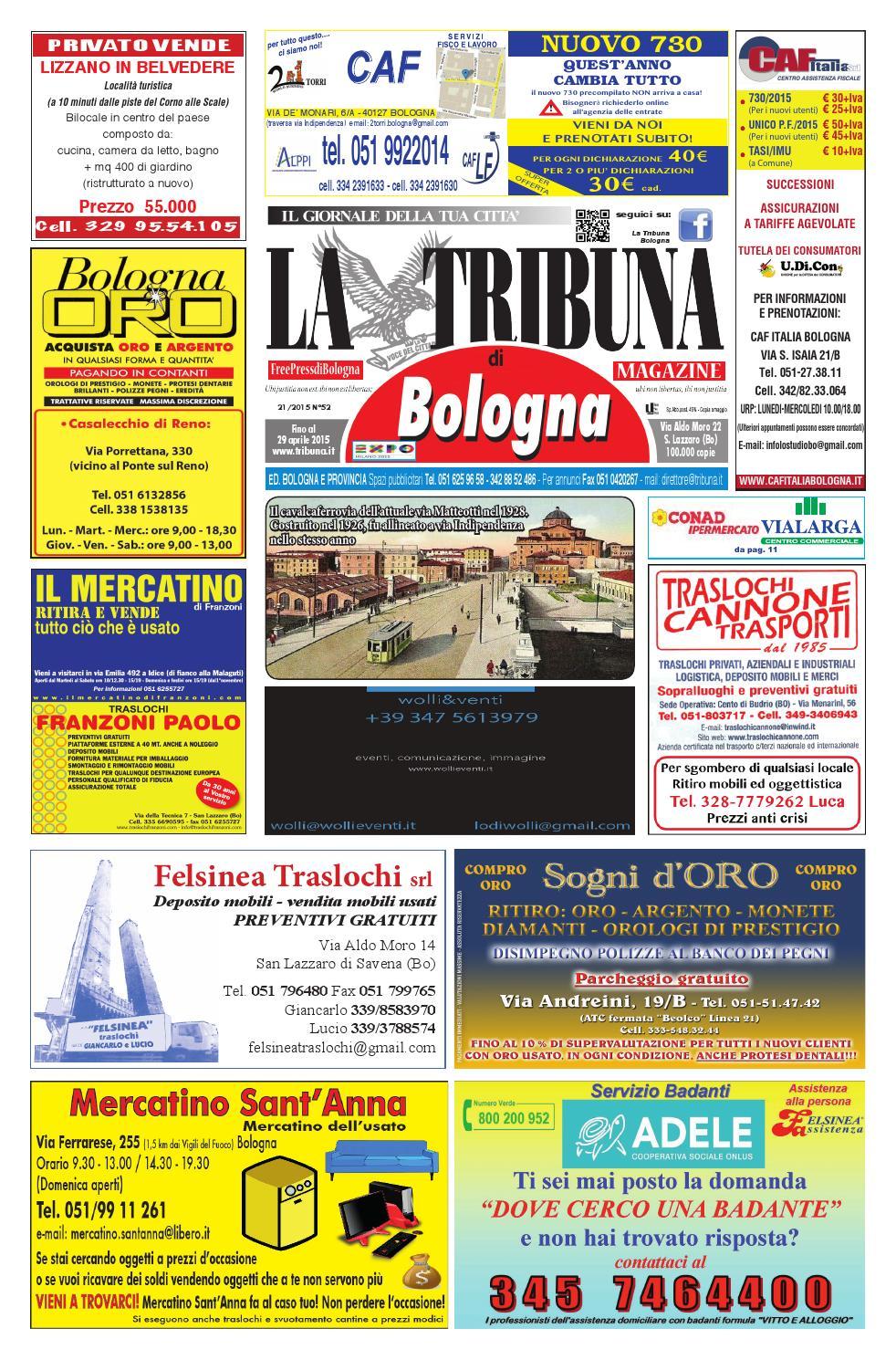 Tribuna n 52 aprile 2015 by la tribuna srls issuu - Comune bagno a ripoli tasi ...