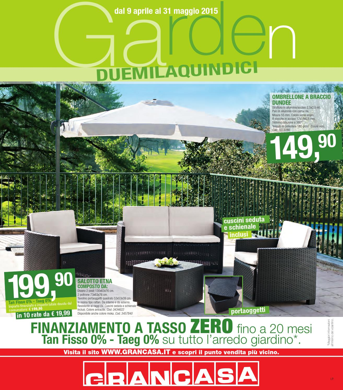 Grancasa 31mag by volavolantino issuu for Arredo giardino carrefour 2017