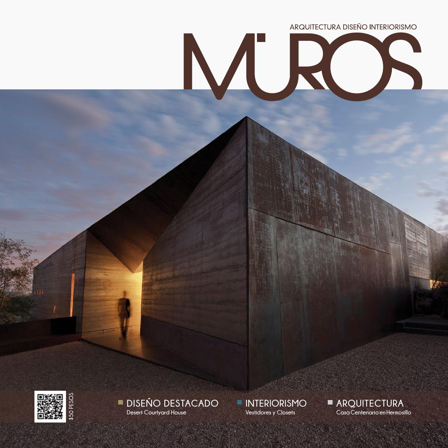 Edici n 16 revista muros arquitectura dise o Arte arquitectura y diseno definicion