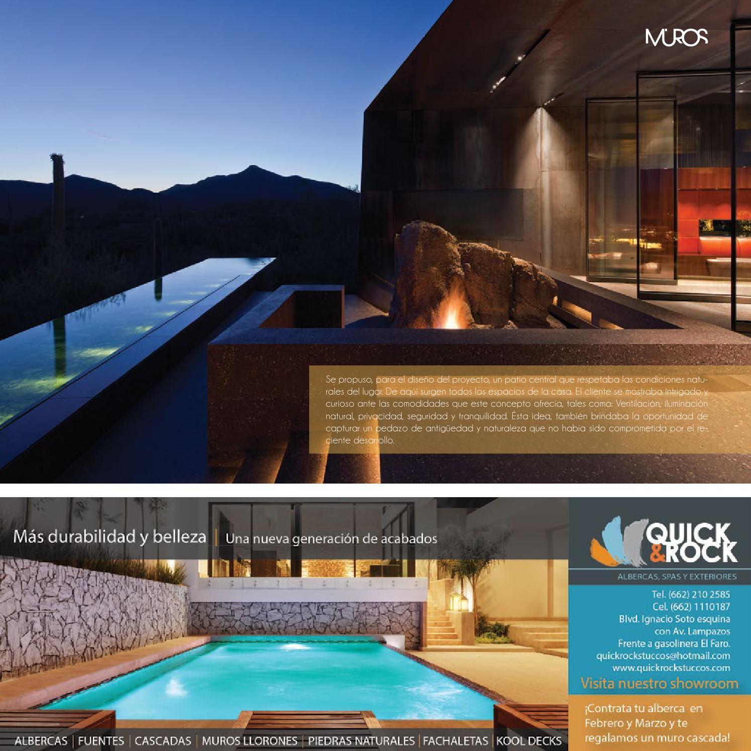 Edici n 16 revista muros arquitectura dise o for Revista habitat arquitectura diseno interiorismo