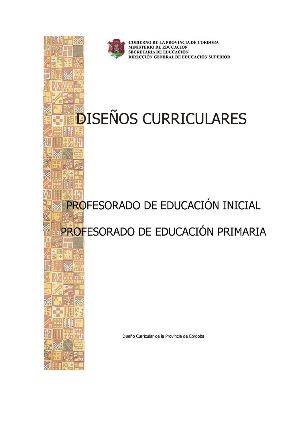 Disenio curr primaria inicial 2015 by Angeles Ulla - issuu