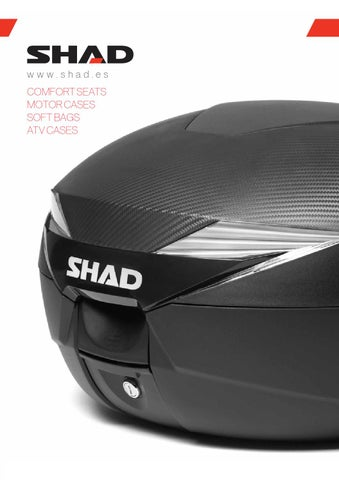 SHAD D1B50E09 Cover SH50 Red SHAD Rouge