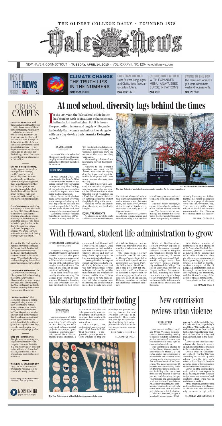 Today's Paper by Yale Daily News - issuu