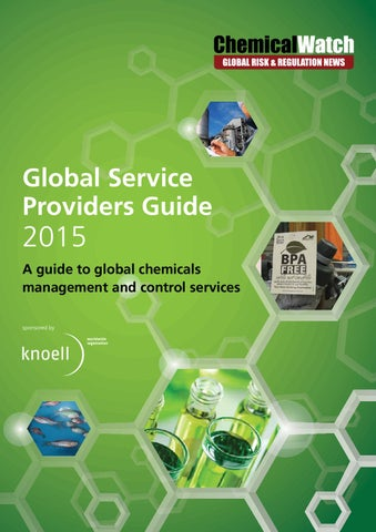 Global Service Providers Guide 2015 by Chemical Watch - issuu