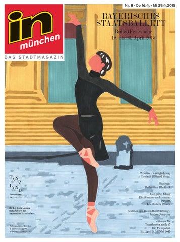 In München Ausgabe 082015 By Inmagazin Verlags Gmbh Issuu