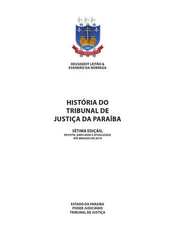 Historia do TJPB 7ª edicao by TJPB - issuu fe963ab14cd4