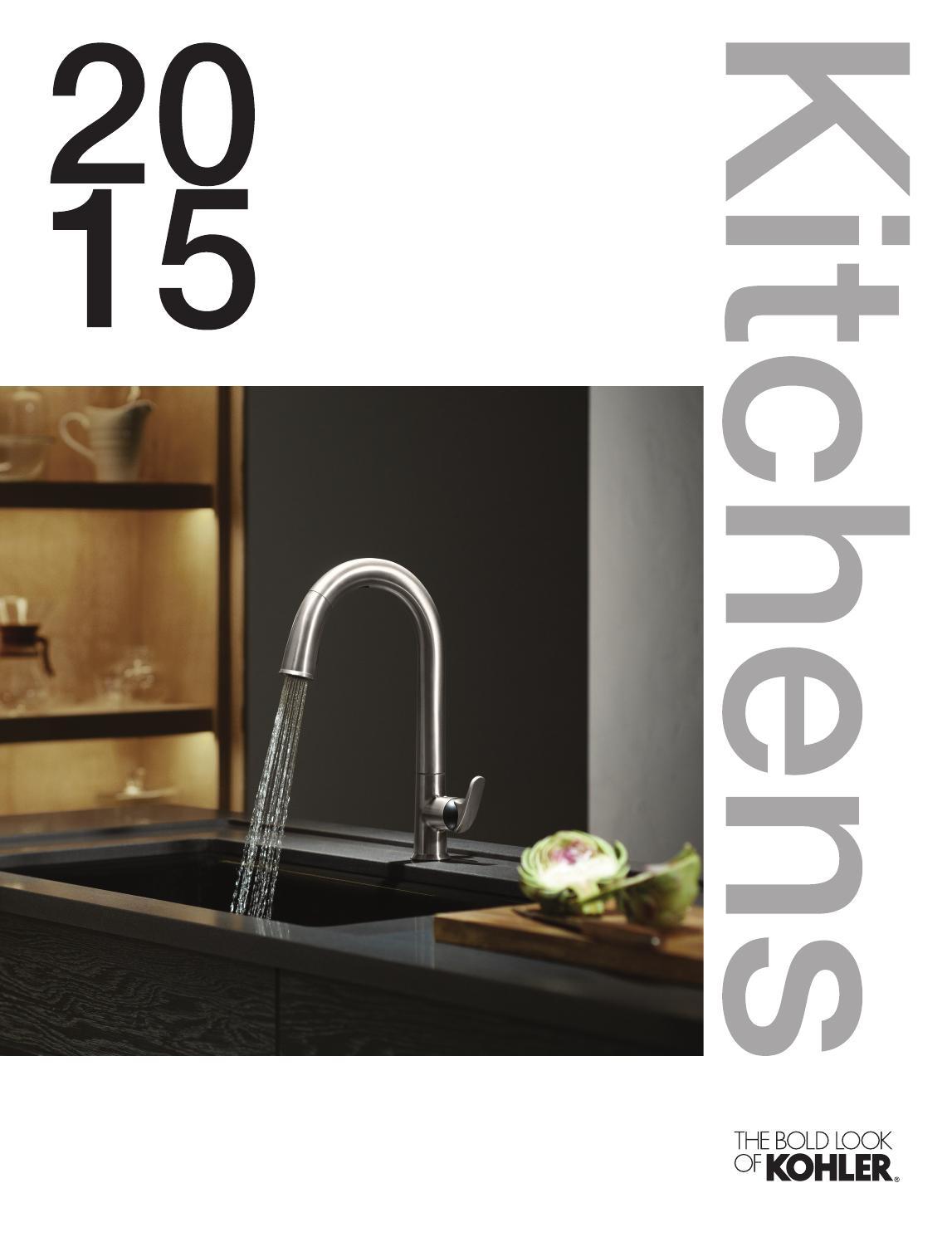 Kohler Uk Kitchens 2015 By Kohler Uk Issuu