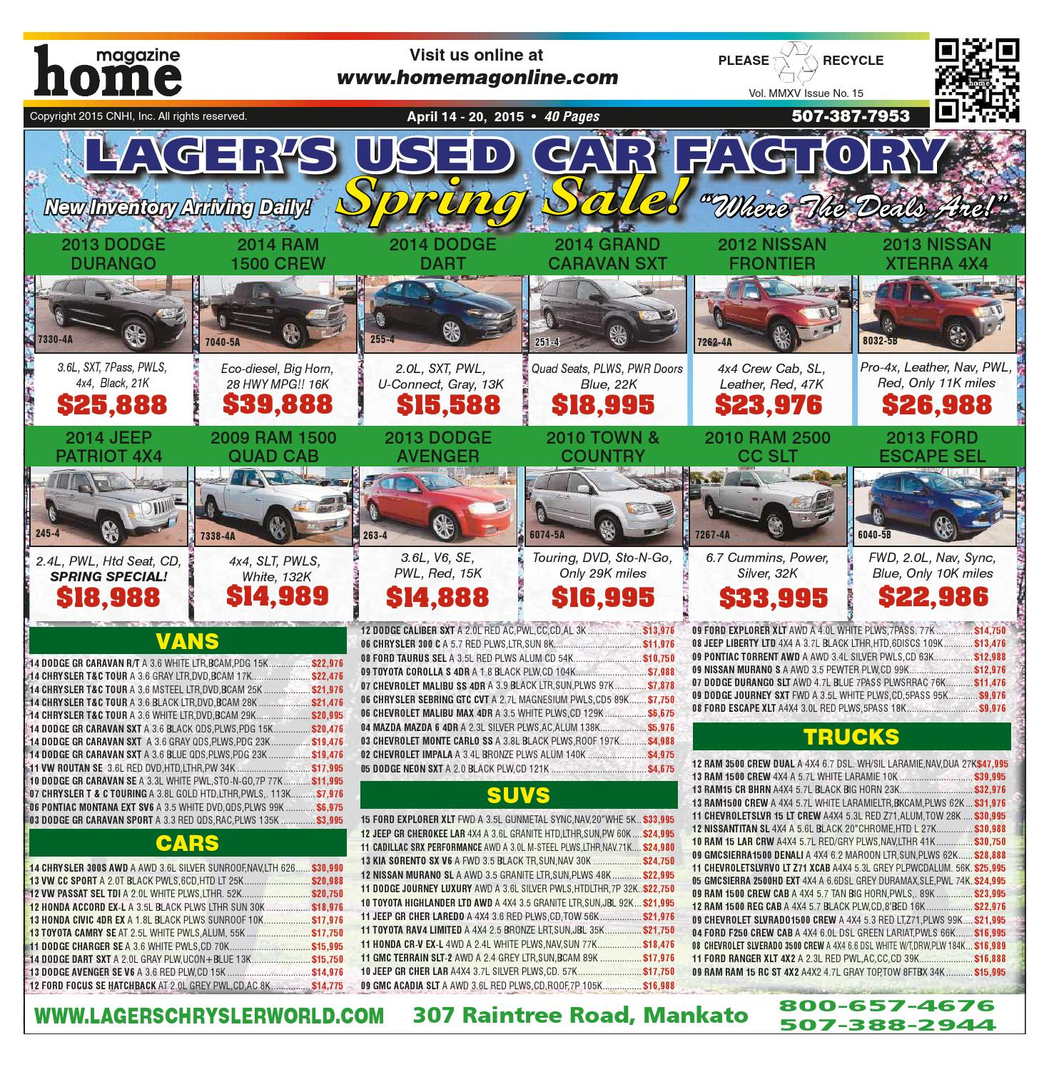 Home Magazine Issue 04 14 15 By Online Issuu Have A Briggs Stration Tiller Four Horsepower I Trried