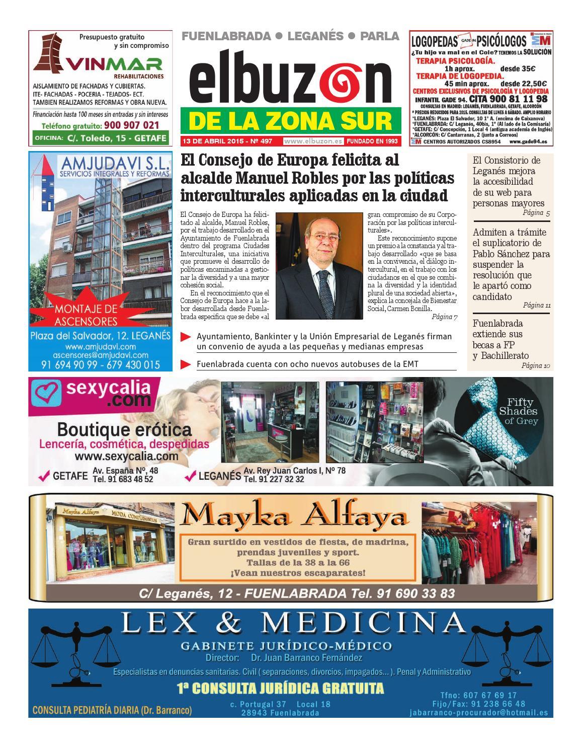 b3e774038 El Buzón de la Zona Sur 497. 13 de abril de 2015 by El Buzón - issuu