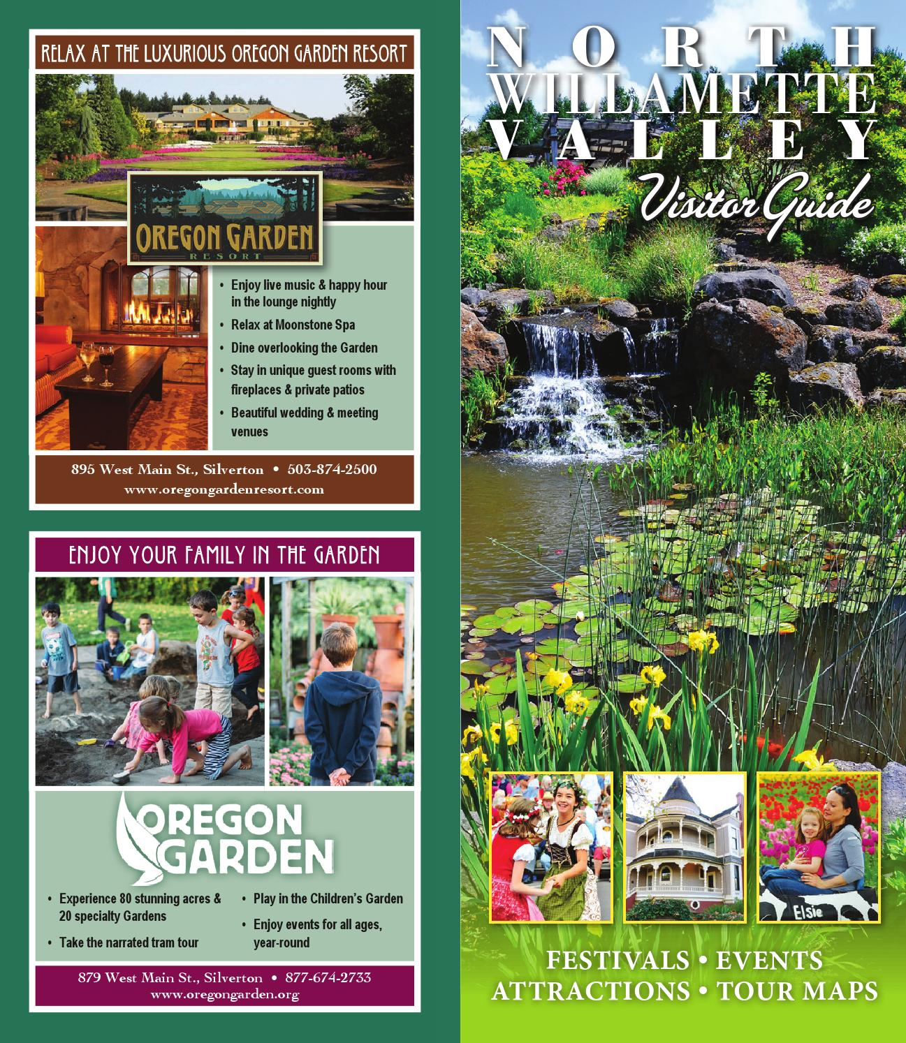 North Willamette Valley Visitor Guide 2015 By MAP