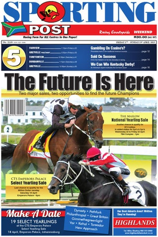 8a40c7b9e5cea 17-19 April  2139 Sporting Post by Sporting Post - issuu