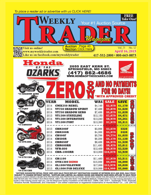 a9aa6da7183 Weekly Trader April 16